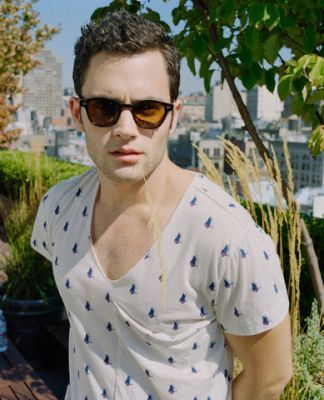 Penn Badgley photoshoot