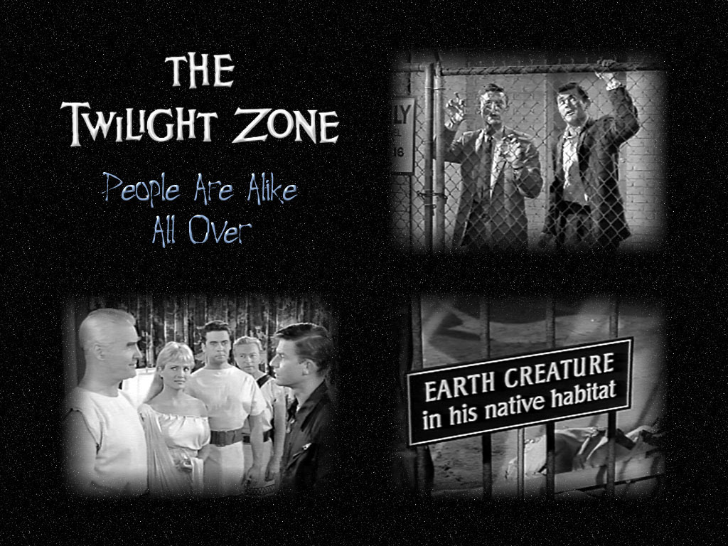 Image result for Twilight Zone people are alike everywhere