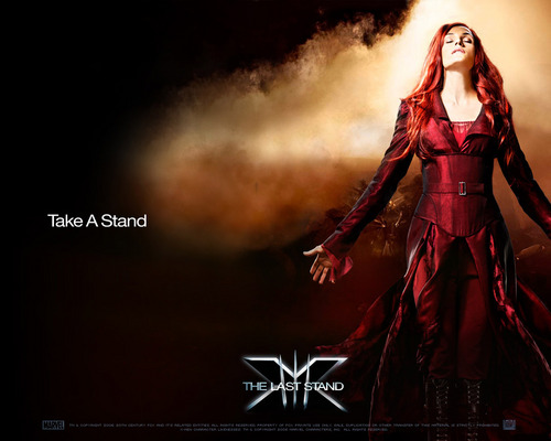 X-Men wallpaper possibly containing a dinner dress entitled Phoenix