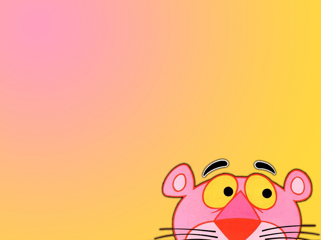 Pink color pink panther