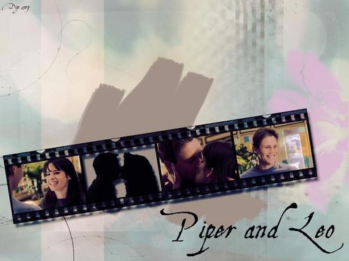 tv couples wallpaper entitled Piper & Leo (Charmed)