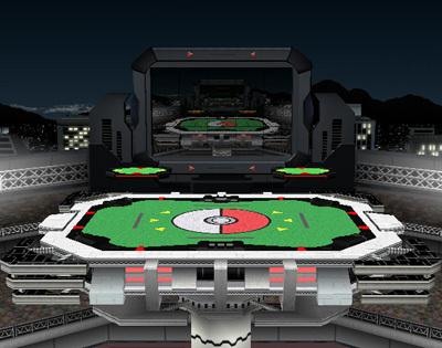 Pokemon Stadium - super-smash-bros-brawl PhotoPokemon Stadium Background