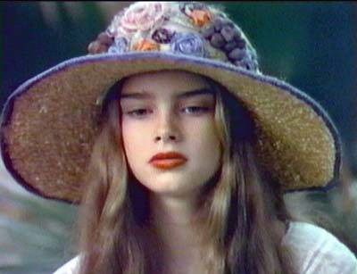brooke shields fondo de pantalla possibly containing a boater and a sombrero entitled Pretty Baby
