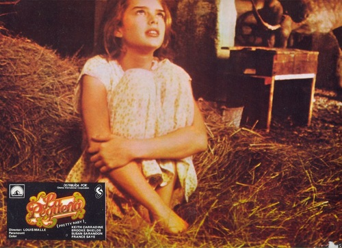 brooke shields fondo de pantalla with a grainfield entitled Pretty Baby