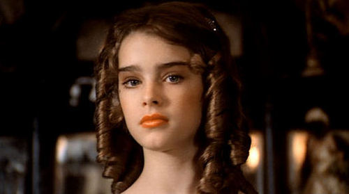 Brooke Shields wallpaper containing a portrait entitled Pretty Baby
