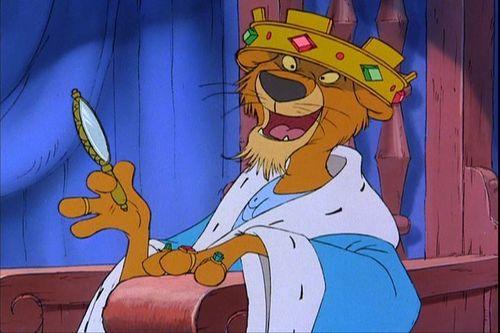 les méchants de Disney fond d'écran with animé titled Prince John (Robin Hood)