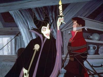 Prince Phillip and Maleficent