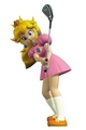 Princess peach, pichi - Mario Golf