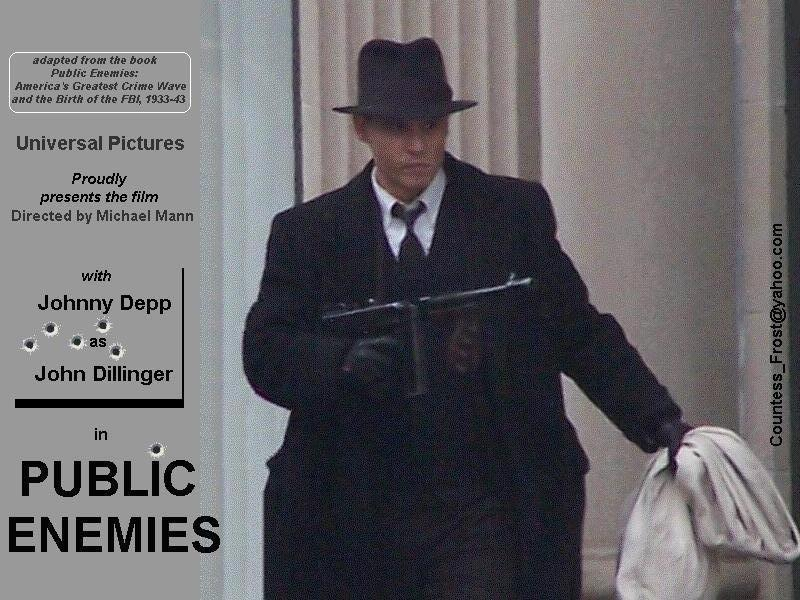Shlriseky Johnny Depp Public Enemies Wallpaper
