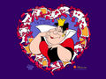 Queen of Hearts Wallpaper - alice-in-wonderland wallpaper