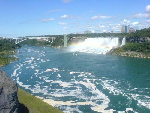 arco iris Bridge - Niagara Falls