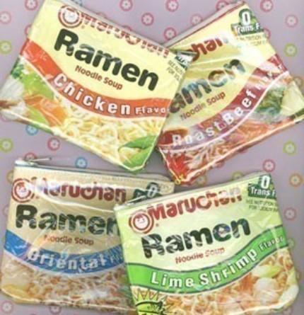 ramen, mashua Noodle Change Pouch
