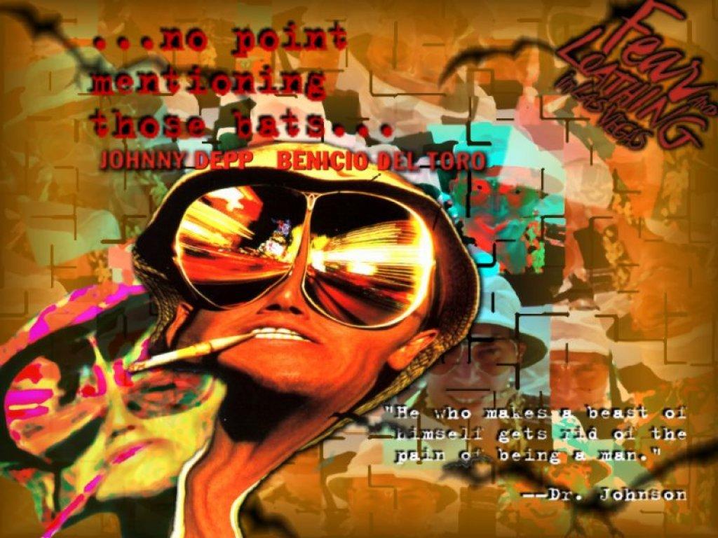 Raoul Fear And Loathing In Las Vegas Fondo De Pantalla