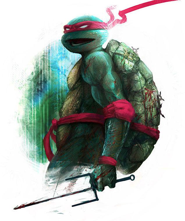 Raphael By Angie Lai Teenage Mutant Ninja Turtles Fan Art