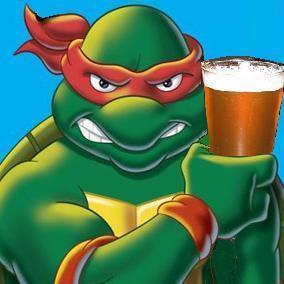 Teenage Mutant Ninja Turtles wallpaper entitled Raphael loves his beer