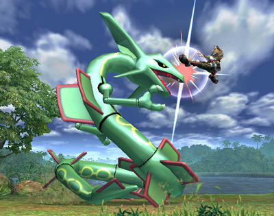 Super Smash Bros. Brawl wallpaper called Rayquaza