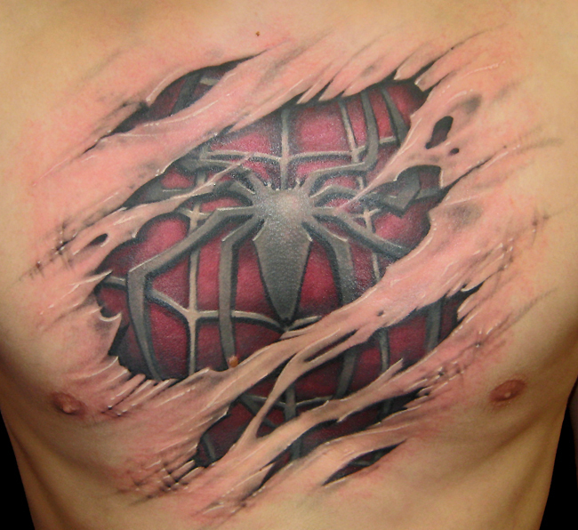Realistic Tattoo - Tattoos 650x596