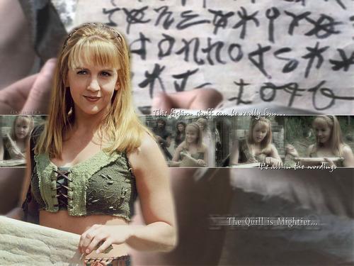 Renee as Gabrielle kertas dinding