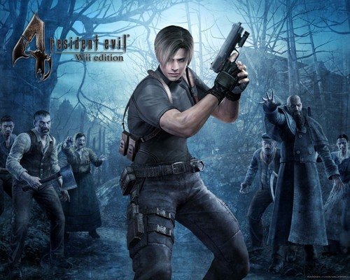 Resident Evil wallpaper possibly containing a rifleman titled Resident Evil 4
