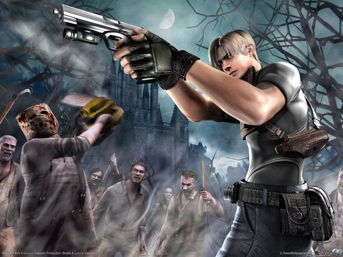 Resident Evil wallpaper probably with a hip boot called Resident Evil 4