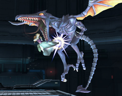 Super Smash Bros. Brawl karatasi la kupamba ukuta possibly containing a bouquet called Ridley
