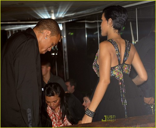 Rihanna& Chris Brown