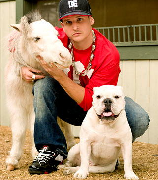 Rob, Mini Horse, and Meaty - rob-dyrdek Photo