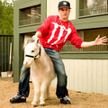 Rob and Mini Horse