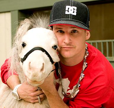 Rob and Mini Horse