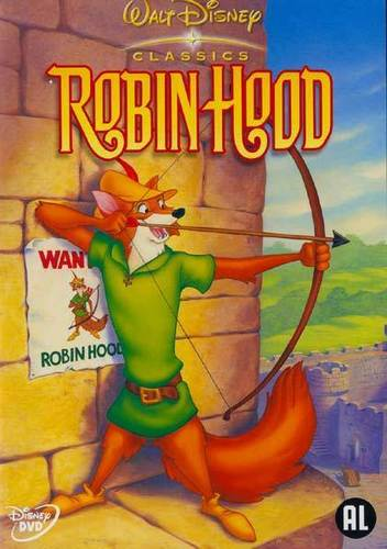 Walt Disney's Robin Hood wallpaper with anime titled Robin Hood posters