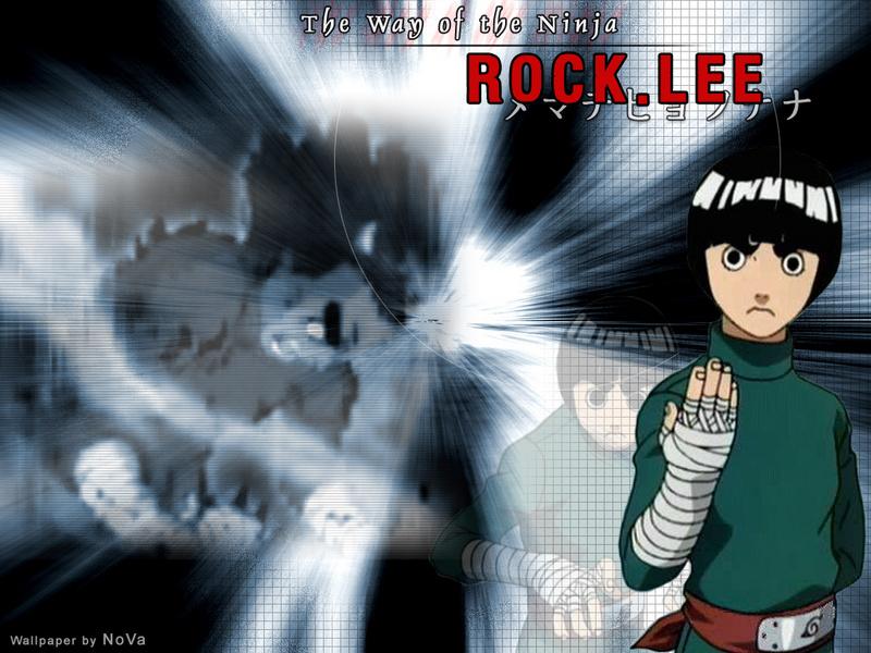 wallpaper rock lee. Rock Lee - Naruto Wallpaper