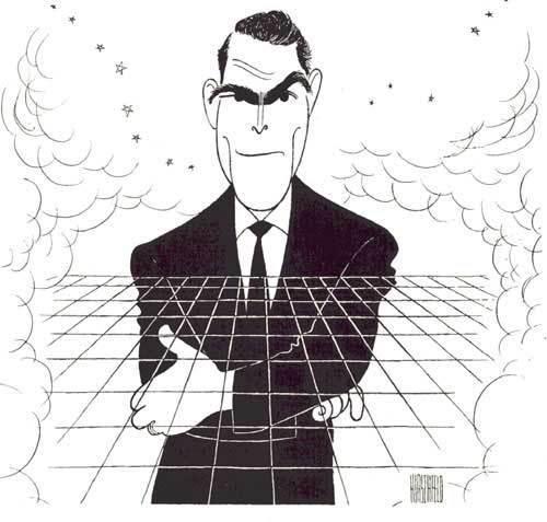 Rod Serling Caricature