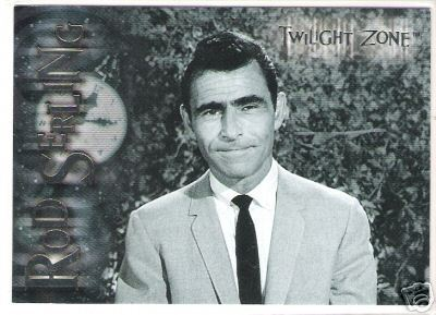 Rod Serling Trading Card