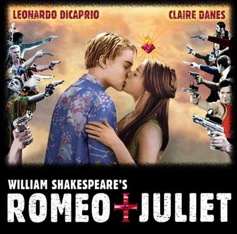 parejas de películas fondo de pantalla titled Romeo & Juliet