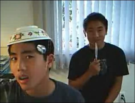 Ryan Higa and Kyle Chun
