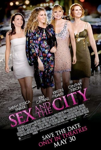 Sex and the City karatasi la kupamba ukuta entitled SATC the movie