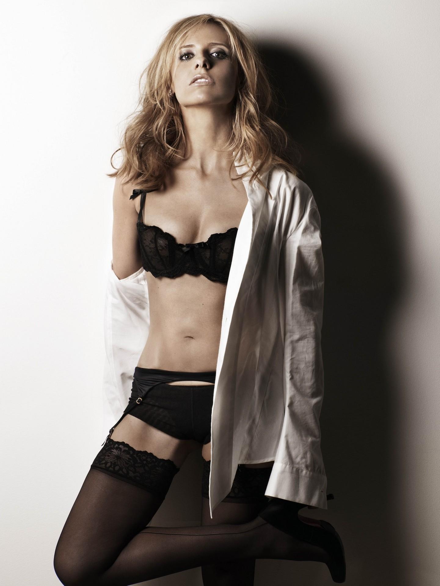 [Buffy the Vampire Slayer] Sarah Michelle Gellar : geekboners