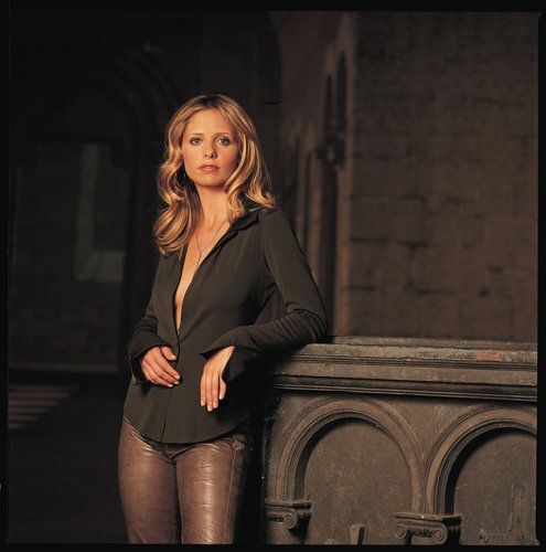SMG as Buffy