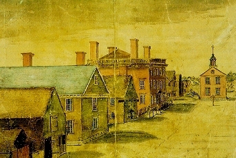 Witchcraft wallpaper entitled Salem, Mass. in 1760s