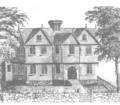 Salem Witch House in 1600s - witchcraft photo