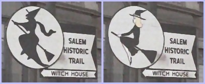 Salem witch sign