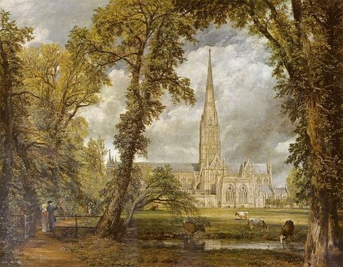 Salisbury Cathedral-Constable