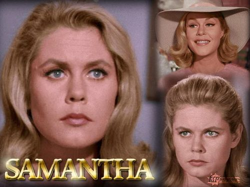 Bewitched wallpaper containing a portrait called Samantha