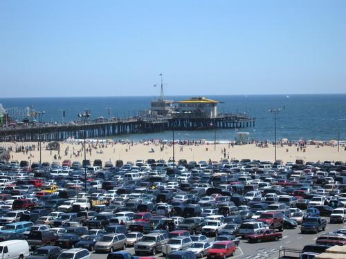 Santa Monica ساحل سمندر, بیچ