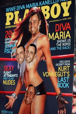 Santino playboy Cover