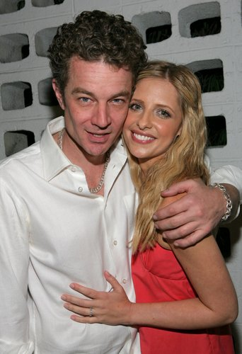 Sarah and James Marsters<3 - sarah-michelle-gellar Photo