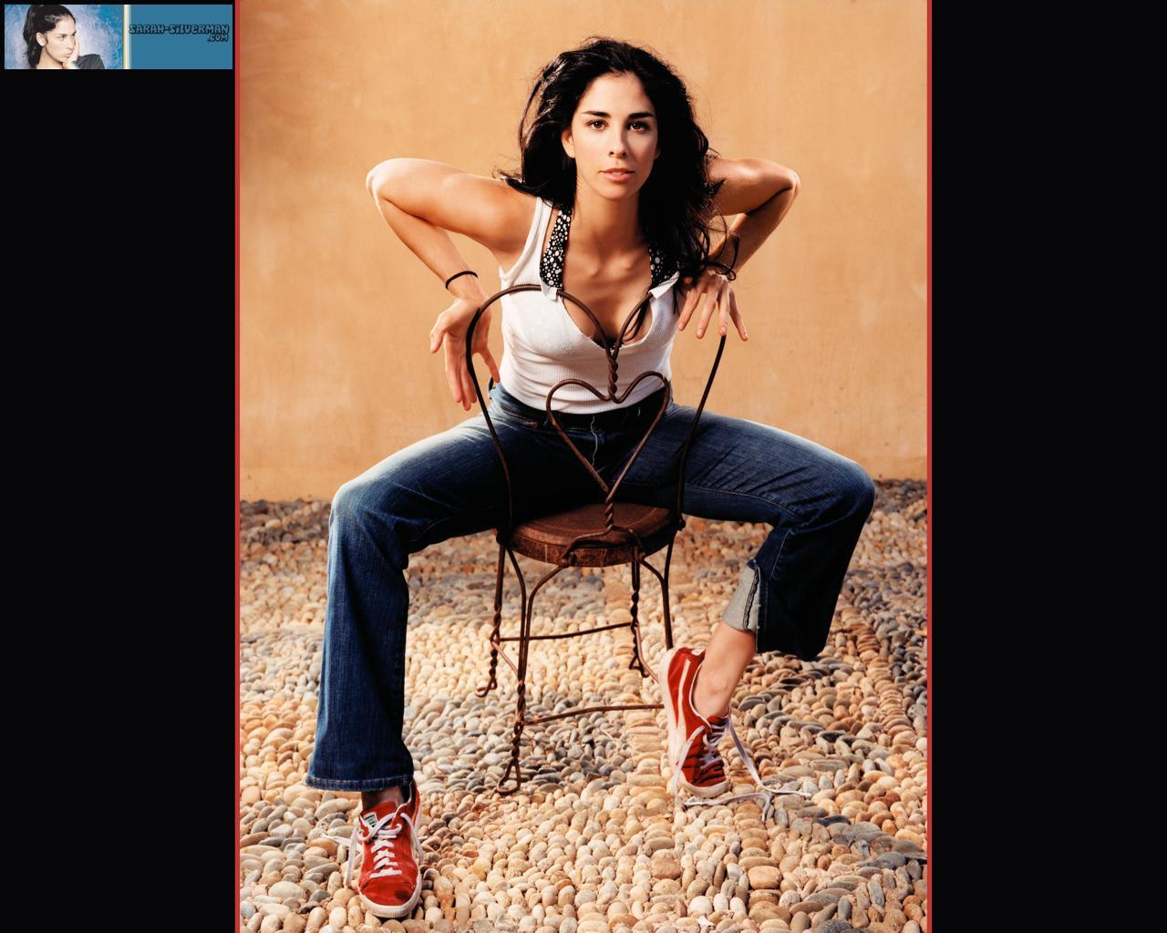 Sarah Silverman Sarah Pictures to pin on Pinterest