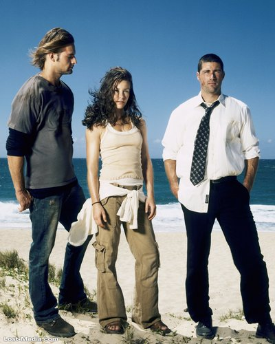 Sawyer,Kate,Jack-season 1