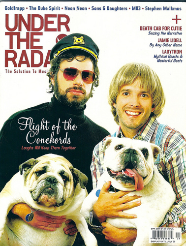 Flight of the Conchords wallpaper entitled Scans from Under the Radar