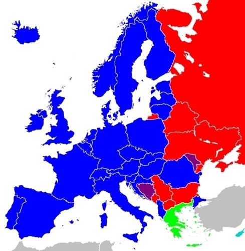 Scripts in 欧洲